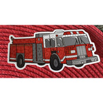 Fire Truck Sticker