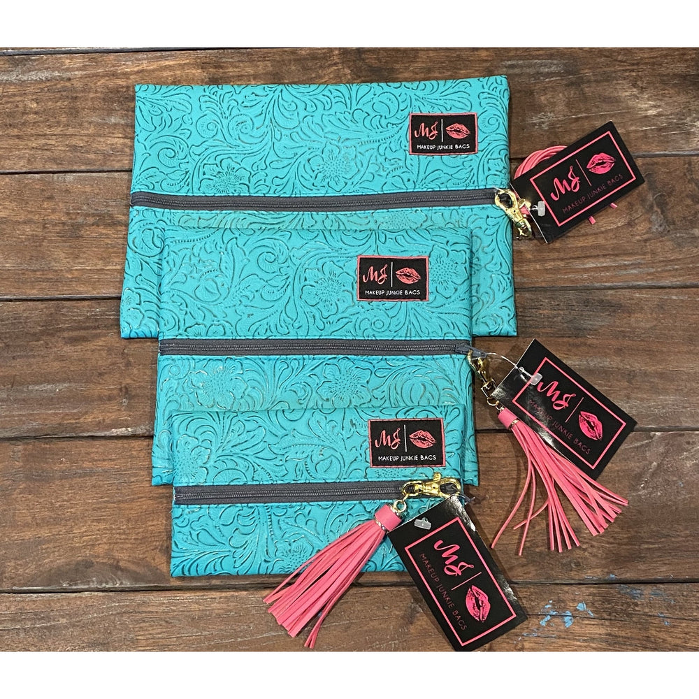 Turquoise Dream Bag by Makeup Junkie Bags