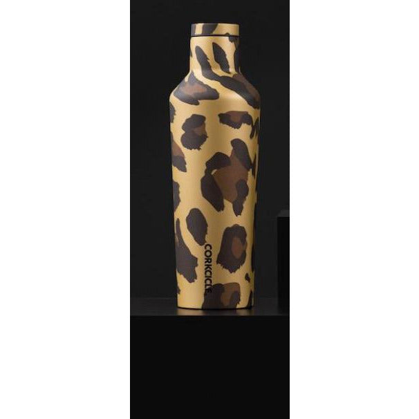 16 oz Canteen By Corkcicle -- Luxe Leopard