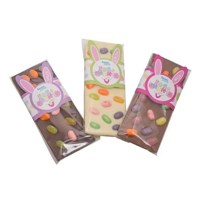 White Chocolate Bar - Easter Egg Hunt
