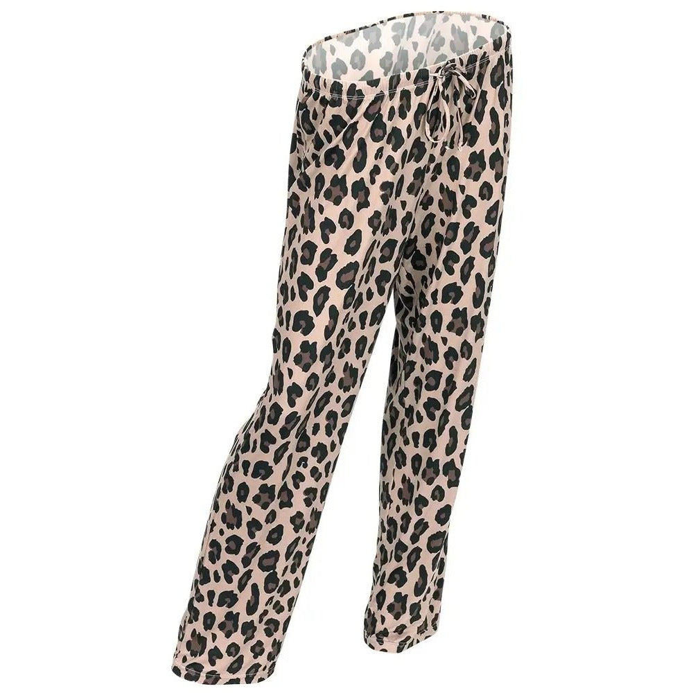 Wild Side Leopard PJ Pants