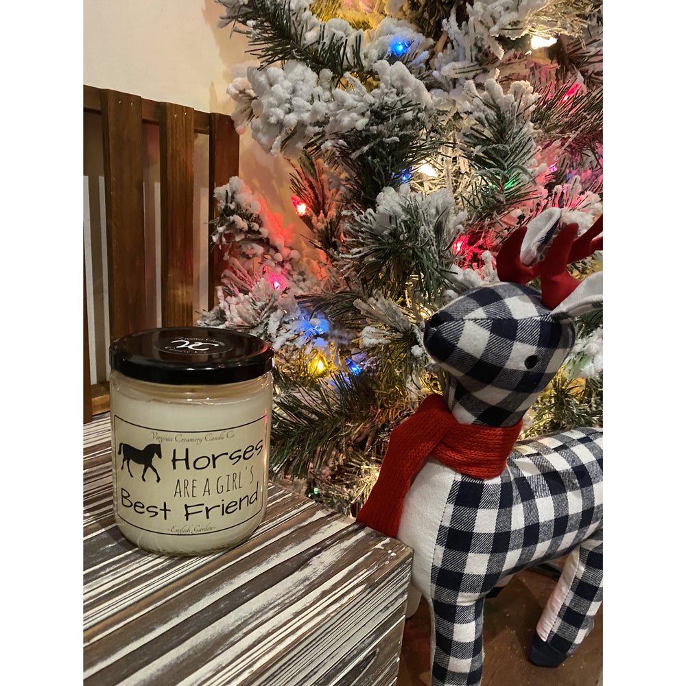 A Girl's Best Friend  -- 16oz Candle