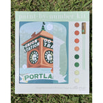 Portland Union Station Paint-by-Number Kit
