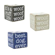 Pet Wooden Cube -- Choice of Color
