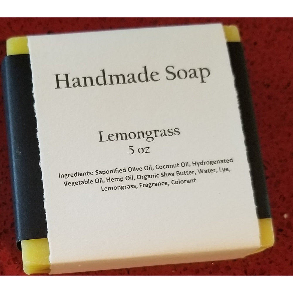 Lemongrass -- Handmade Soap