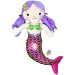 Serena Mermaid Plush Toy -- Choice of Color - BFF Here