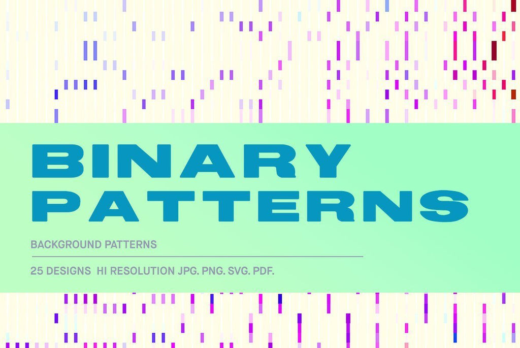 Binary Patterns Illustration Pack | Huebert World
