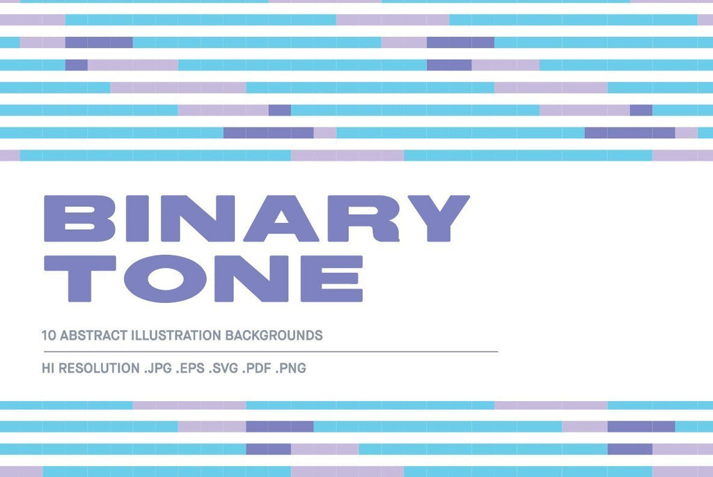 Binary Tone Illustration Pack - Huebert World