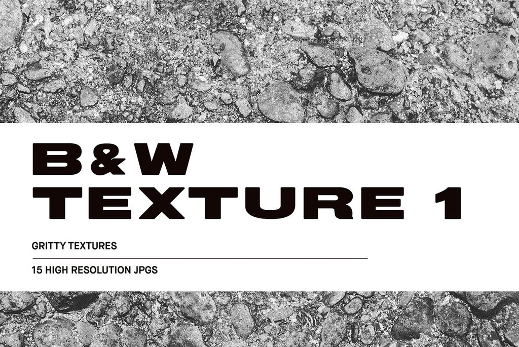 Black and White Texture #1 Pack | Huebert World