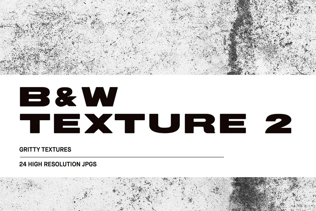 Black and White Texture #2 Pack | Huebert World