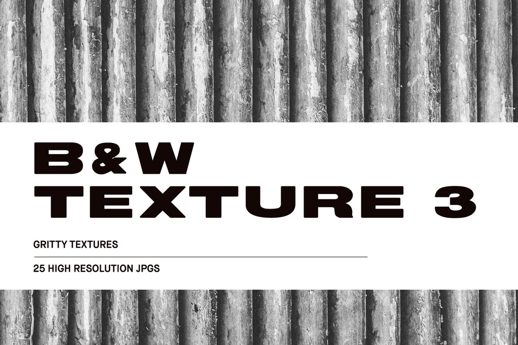 Black and White Texture #3 Pack | Huebert World