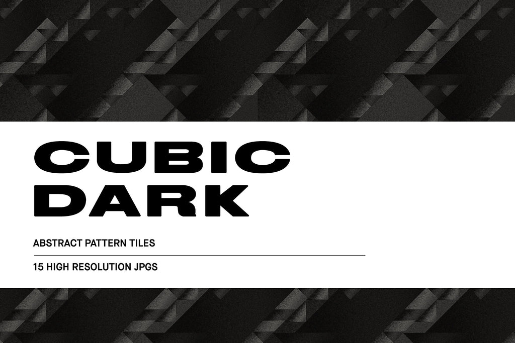 Cubic Dark Illustration Pack | Huebert World