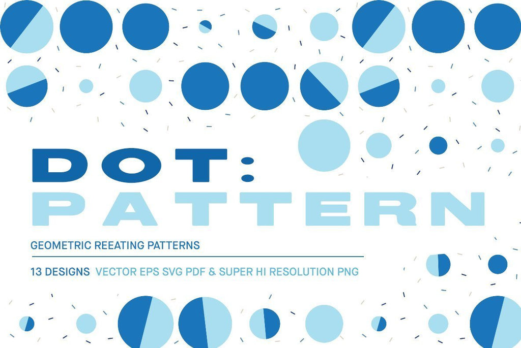 Dot Pattern Pack | Huebert World