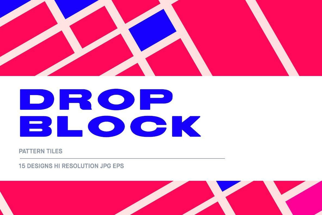 Drop Block Illustration Pack | Huebert World