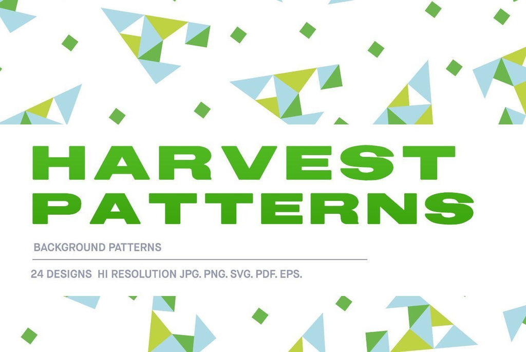 Harvest Patterns Pattern Pack | Huebert World