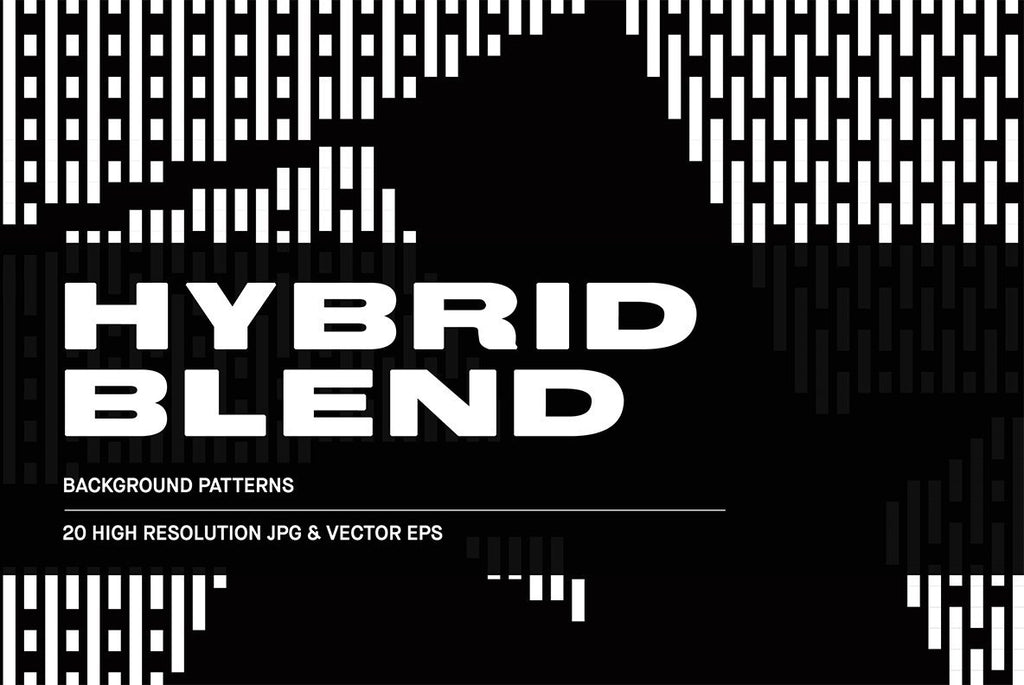 Hybrid Blend Illustration Pack | Huebert World