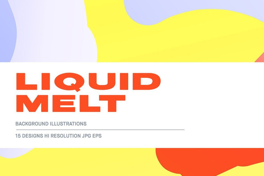 Liquid Melt  Illustration Pack | Huebert World