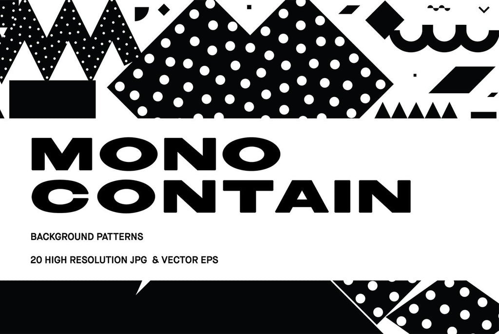 Mono Contain Illustration Pack | Huebert World