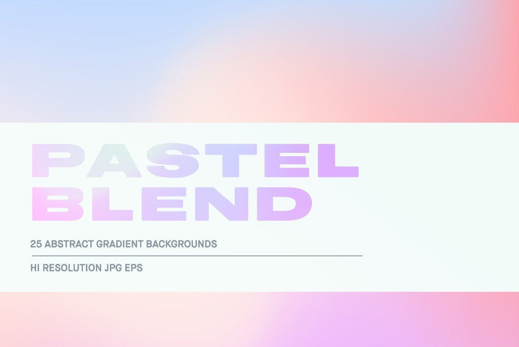 Pastel Blend Illustration Pack | Huebert World