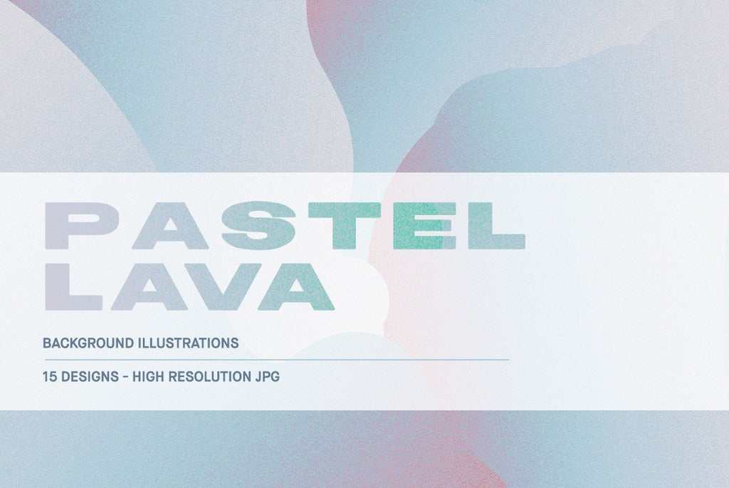 Pastel Lava Illustration Pack | Huebert World