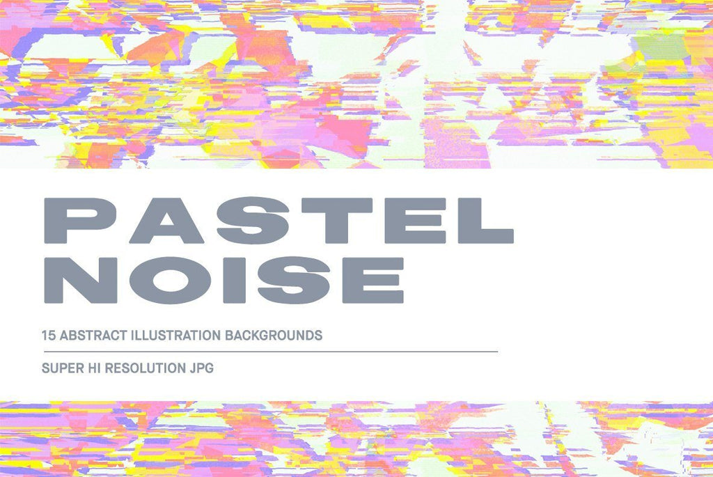 Pastel Noise Illustration Pack | Huebert World