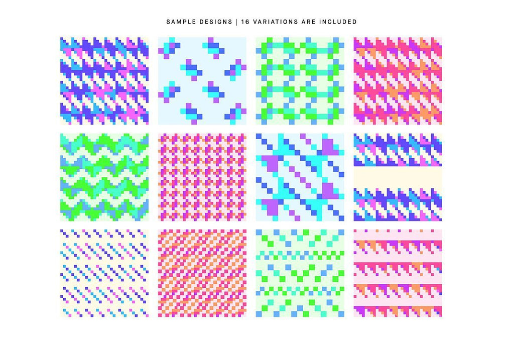 Pixel Contact Pattern Pack | Huebert World