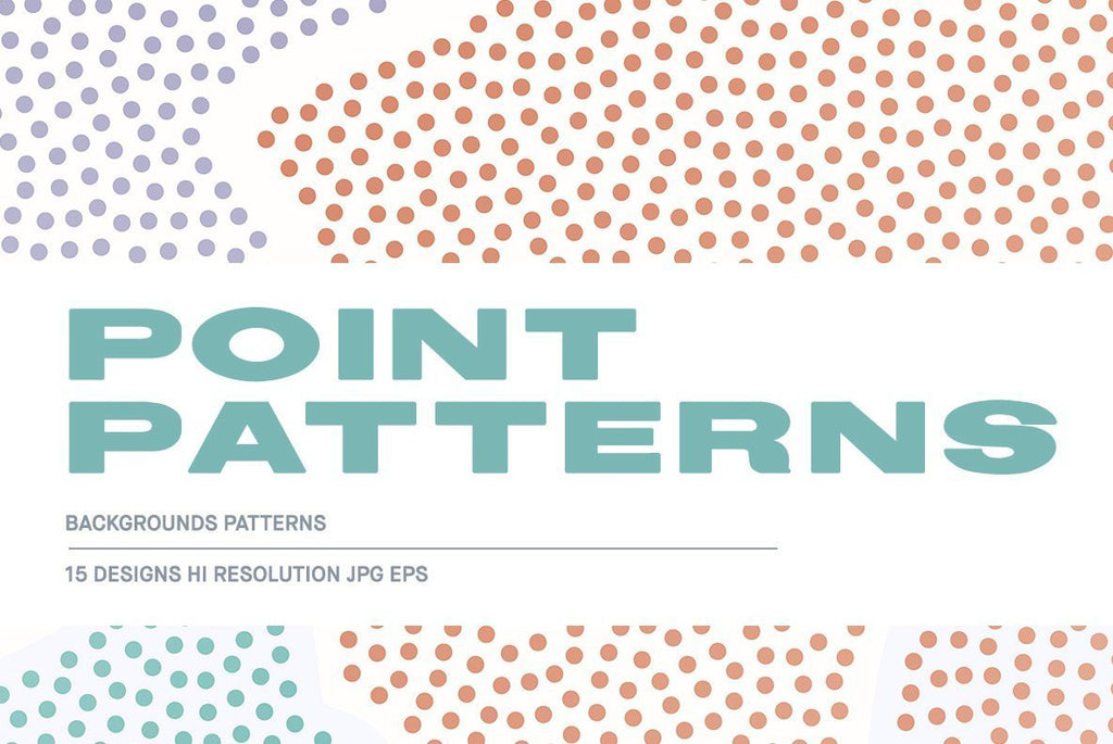 Point Patterns Illustration Pack | Huebert World