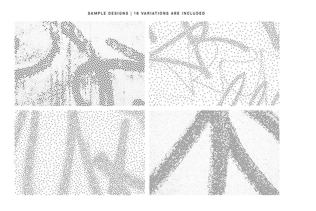 Scrawl Stipple Illustration Pack | Huebert World
