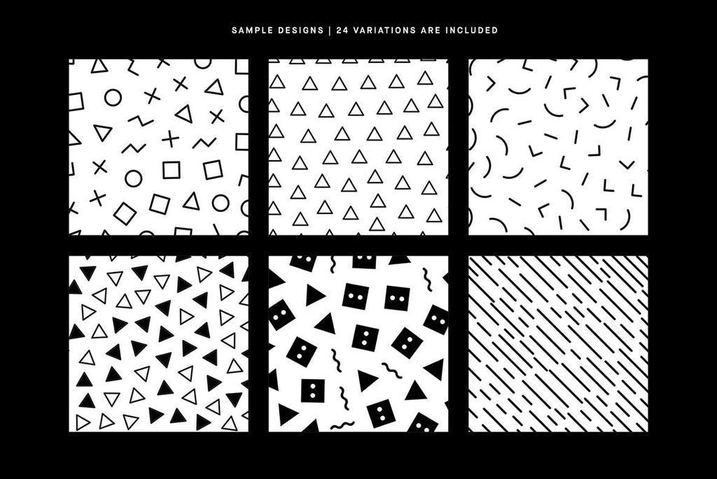 Simple Patterns Pattern Pack | Huebert World