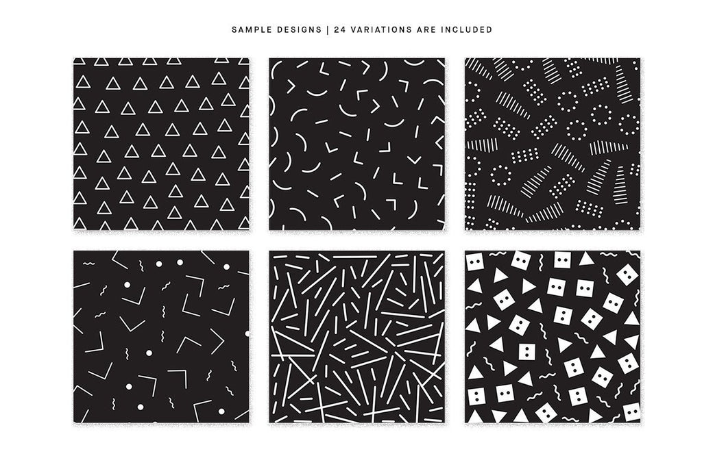 Simple Patterns Seamless Repeat Graphic Pack - Huebert World