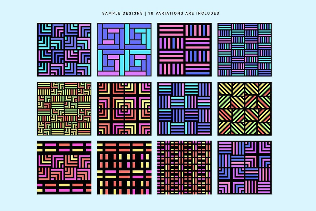 Time Rewind Pattern Pack | Huebert World