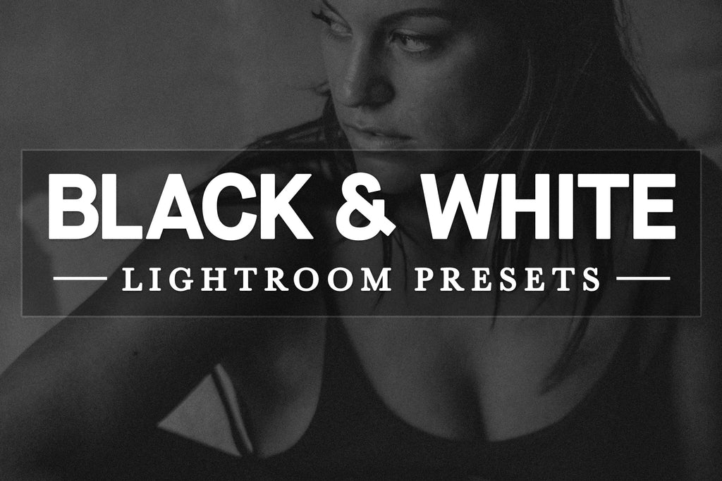 Free black & white film presets for Adobe Lightroom