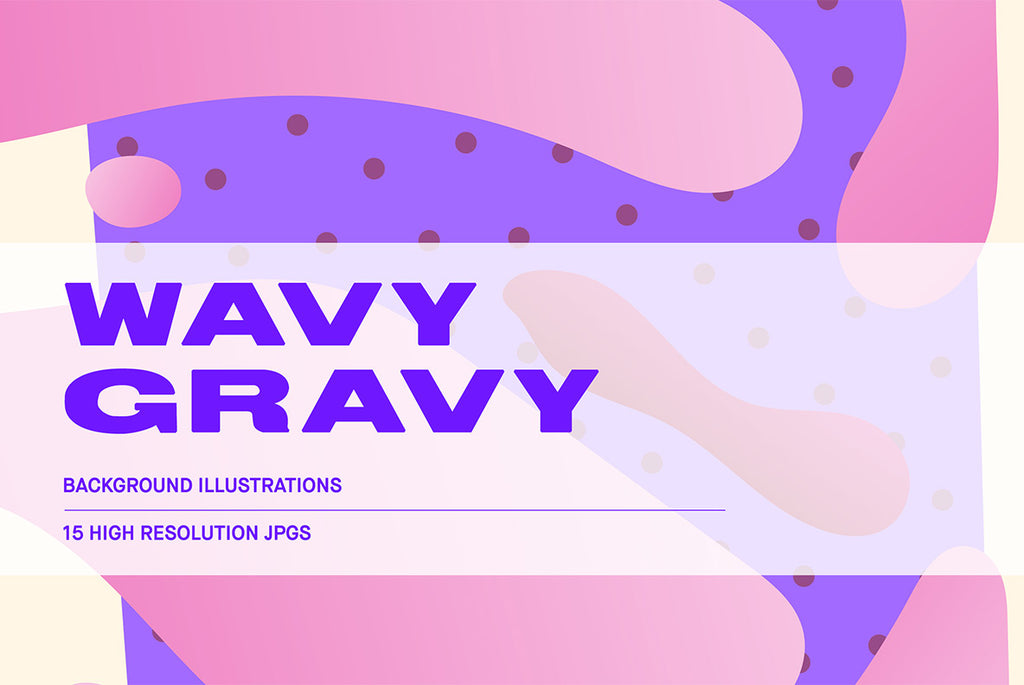 Wavy Gravy Illustration Pack | Huebert World