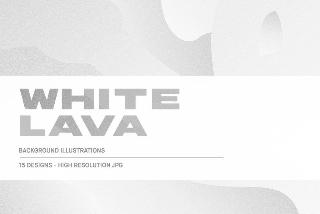 White Lava Illustration Pack | Huebert World