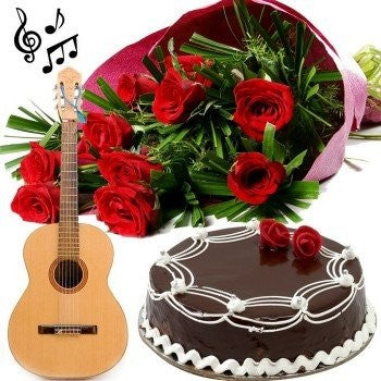 Chocolate: Send A Song Gift (Half Kg)