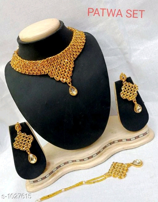 Trendy Metal Jewellery Set