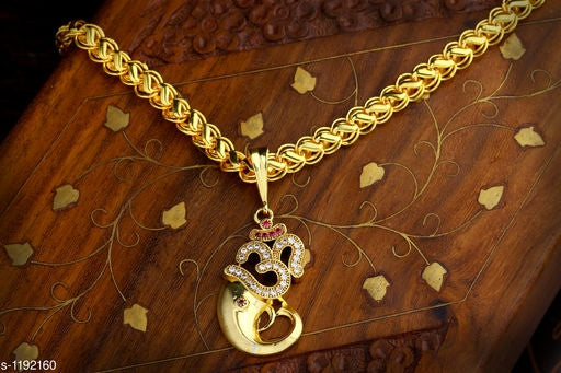 Trendy Alloy Chain With Pendant