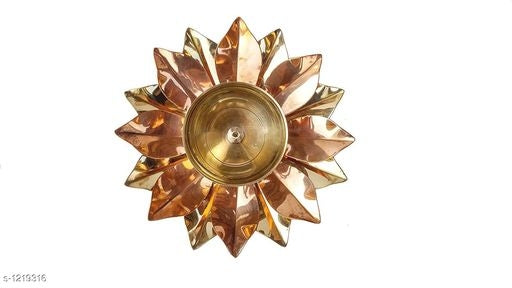 Traditional Brass and Glass Diyas Vol 1*