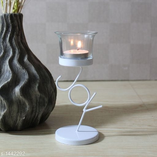 Classy Glass & Iron Tealight Holder Vol 3