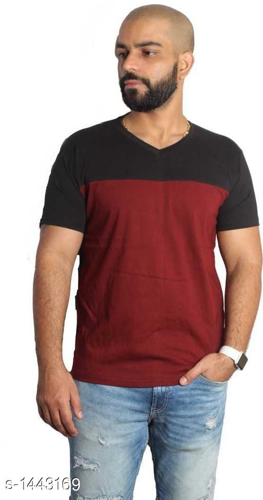 Casual Cotton Blend Mens T-Shirts Vol 1