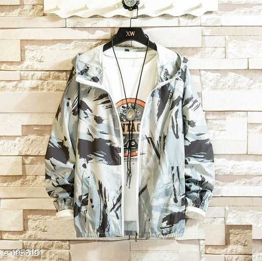Essential Trendy Men's Polyester Jackets Vol