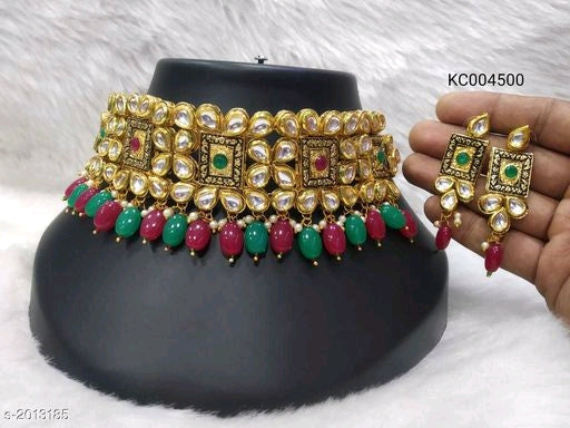 Feminine Beautiful Kundan Jewellery Sets Vol 1