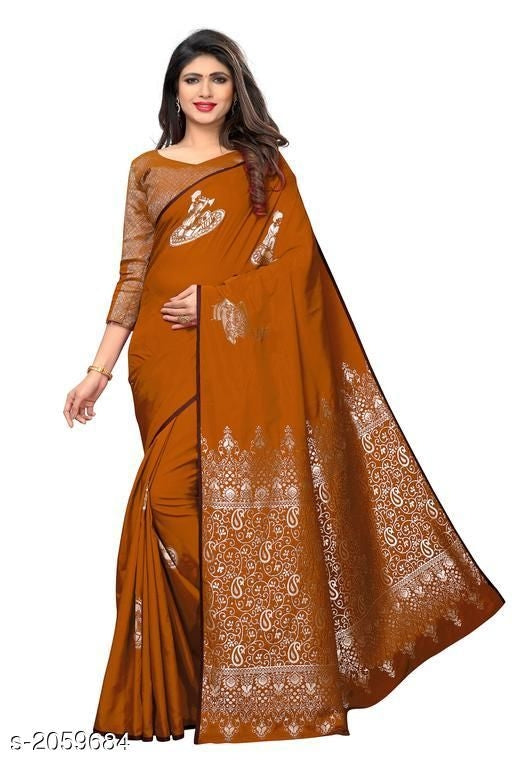 Keerthika Stylish Silk Women's Sarees Vol 4