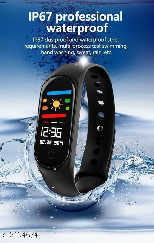 Fashionable Trendy Silicone Smart Watches Vol 1