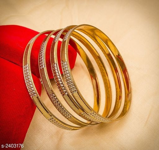 Feminine Stylish Alloy Bangles Vol 11