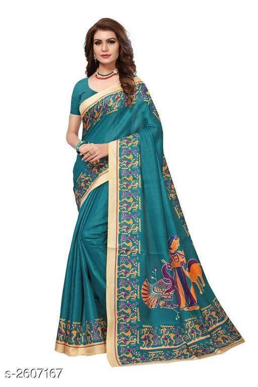 Anisa Fancy Khadi Silk Women's Sarees Vol 8