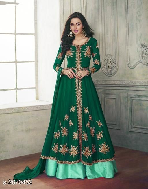 Attractive Trendy Faux Georgette Suits & Dress Materials Vol 5