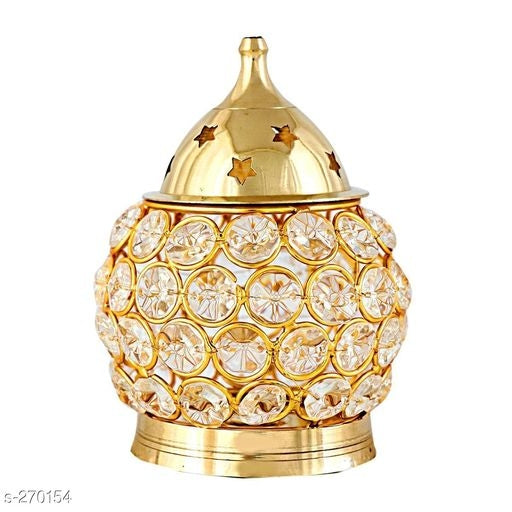 Brass Fancy Akhand Diyas Vol 1