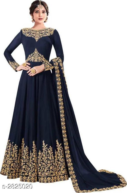 Inaaya Gorgeous Phantom Silk Women's Gowns Vol 10