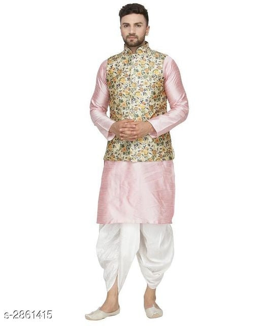 Elegant Ethnic Dhupion Men's kurta Sets Vol 4